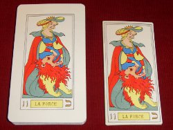 Oswald wirth - Tarot 1889 - �ditions format normal et grand