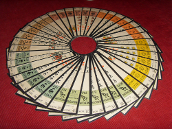tarot artisanal tarot sot rique d 39 oswald wirth roue chromatique. Black Bedroom Furniture Sets. Home Design Ideas