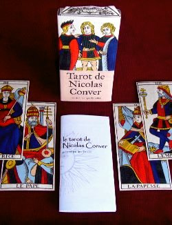 Artisanal edition of the Nicolas conver Tarot
