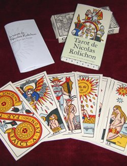 Artisanal edition of the Nicolas Rolichon Tarot