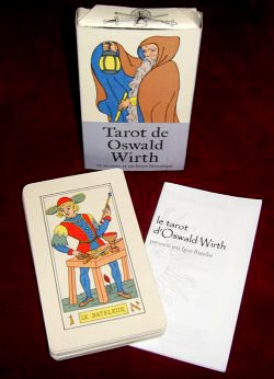 Artisanal edition of the Oswald Wirth Tarot